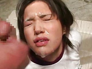 Naughty schoolgirl fingering