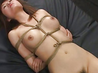 Hot mistress fucked with a huge strap on