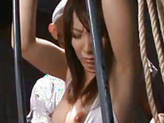 Nozomi Mitani is fucked with dildo and dick