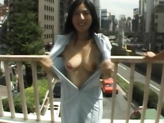 Busty asian feels horny and eagre