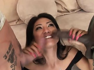 Kinky threesome session with lovely Lyla Lei
